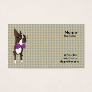 Dog Walking Business Card