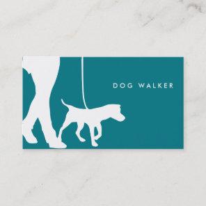 Dog walking business card 3.5
