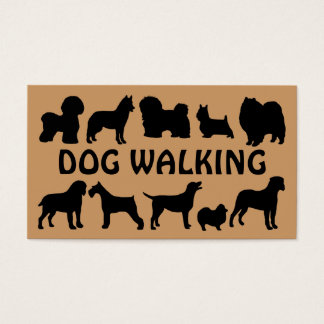Dog Walking Fun Business Card