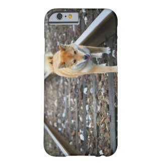 Dog walking track barely there iPhone 6 case