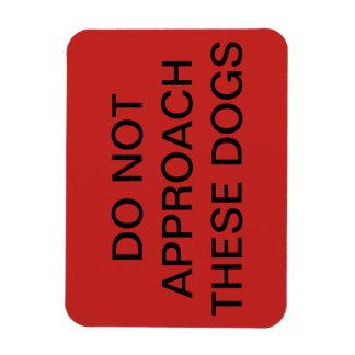 Dog Warning Sign Magnet