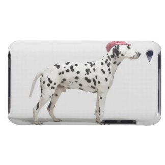 Dog wearing a hat barely there iPod cases