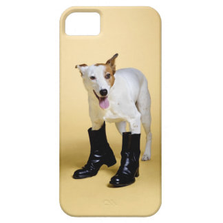 Dog wearing boots iPhone 5 case
