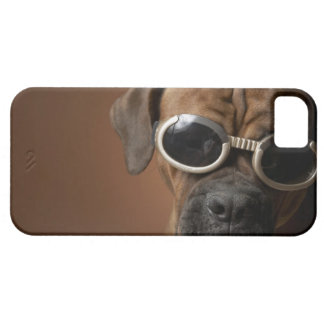 Dog wearing sunglasses 3 barely there iPhone 5 case