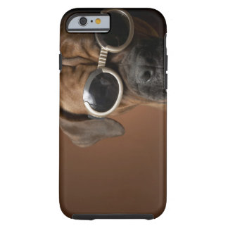 Dog wearing sunglasses 3 tough iPhone 6 case
