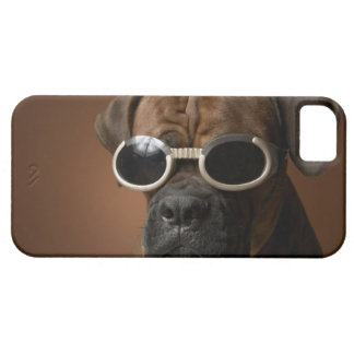 Dog wearing sunglasses barely there iPhone 5 case