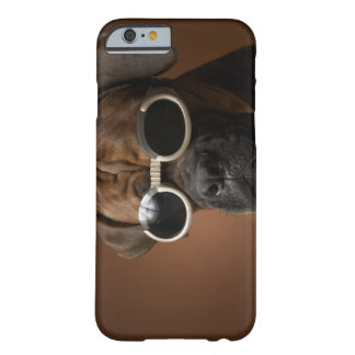 Dog wearing sunglasses barely there iPhone 6 case
