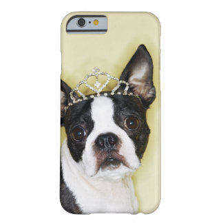 Dog wearing tiara barely there iPhone 6 case