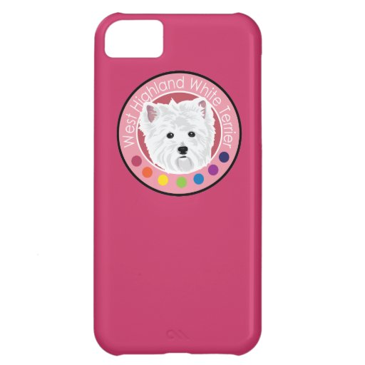 Dog West highland white terrier iPhone 5C Cover