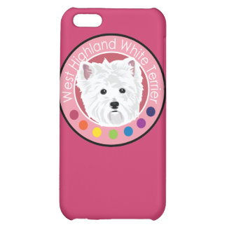 Dog West highland white terrier iPhone 5C Cases