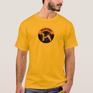 dog wire fox terrier T-Shirt