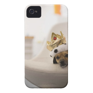 Dog with a crown iPhone 4 Case-Mate case