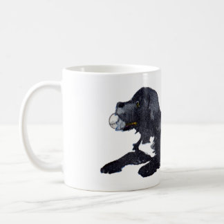 Dog with Ball Wants to Play Fetch Coffee Mugs
