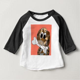 dog with bone baby T-Shirt