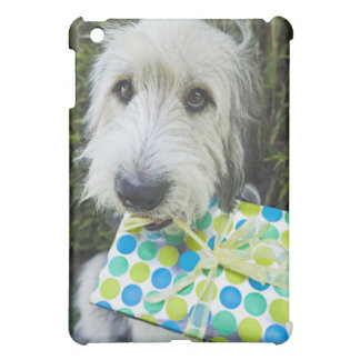 Dog with gift in mouth cover for the iPad mini