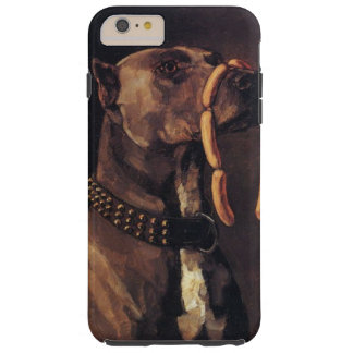 Dog with Sausages Phone Cover
