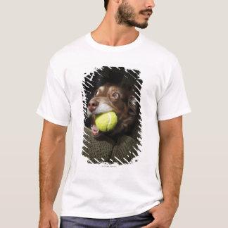 Dog with Tennis Ball T-Shirt
