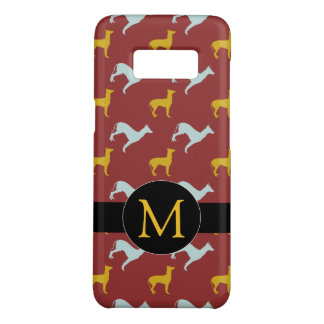 Dog Year 2018 Zodiac Birthday Monogram Samsung C Case-Mate Samsung Galaxy S8 Case