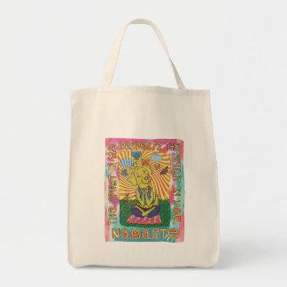 Dog Yoga Namaste Tote Bag