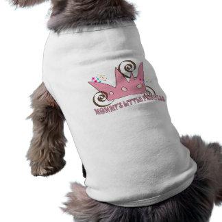dogcoat Mommy's Little Princess Ice Cream Colour Sleeveless Dog Shirt