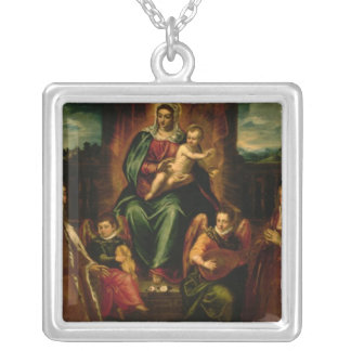 Doge Alvise Mocenigo and Family Silver Plated Necklace