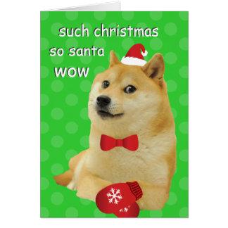Doge Christmas Card