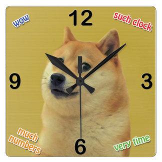 Doge Clock