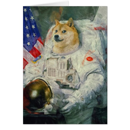 Doge Greeting card