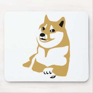 Doge - internet meme mouse mat