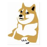 Doge - internet meme postcards