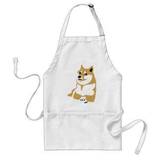 Doge - internet meme standard apron