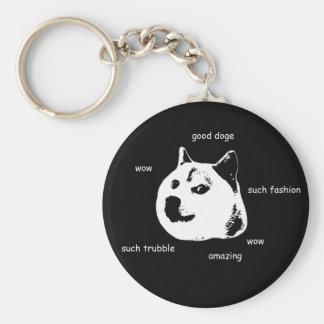Doge Key Chain