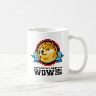 Doge Meme Dogecoin WOW Coffee Mug