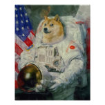 Doge painting version poster