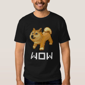 Doge pixel WOW T-shirt