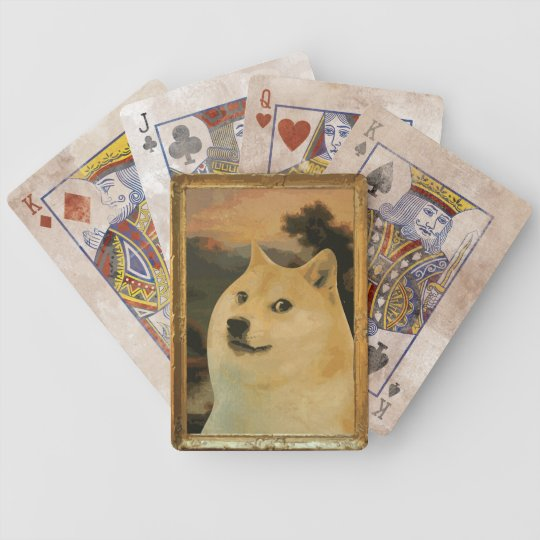 Doge Regal Playing Card Set Bicycle Playing Cards