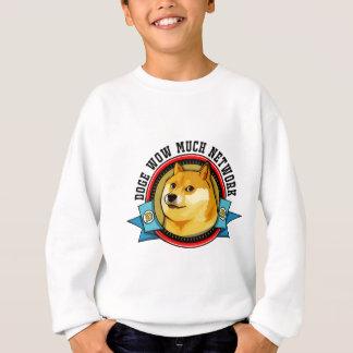 Doge Shibe Wow Much Network Emblem Sweatshirt