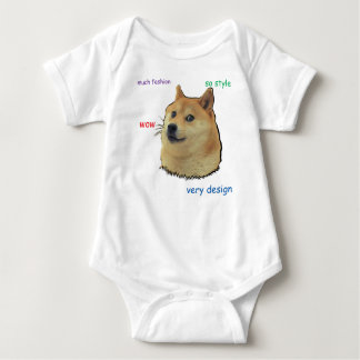 Doge.  So Shibe Baby Bodysuit