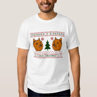 Doge Such Christmas Shirt