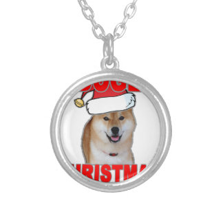 Doge Such Christmas Tee Shirts L png Custom Necklace