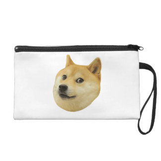 Doge Very Wow Much Dog Such Shiba Shibe Inu Wristlets