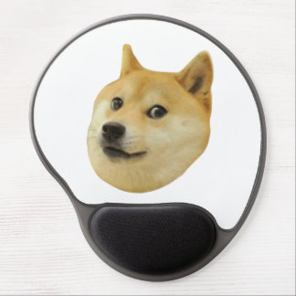 Doge Very Wow Much Dog Such Shiba Shibe Inu Gel Mouse Mat