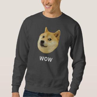 Doge Very Wow Much Dog Such Shiba Shibe Inu Pullover Sweatshirts