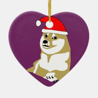 doge wow meme very xmas such hat many santa ornaments