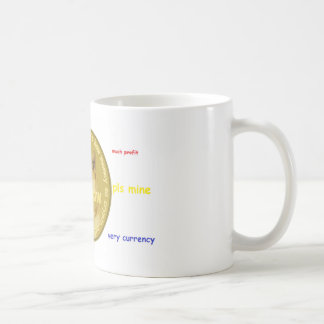 Dogecoin accessories- The Chatty Shiba Inu Coffee Mug