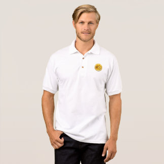 DOGECOIN To The Moon Men's Polo Jersey