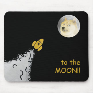 Dogepad - The Dogecoin Mouse Pad