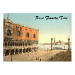 Doge's Palace and the Piazzetta, Venice, Italy Business Card Template