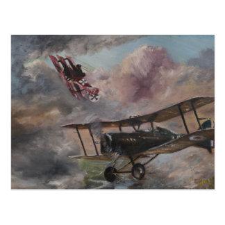 Dogfight 1917 postcard