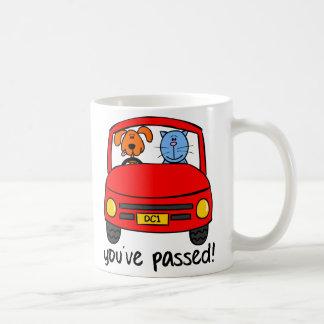 Dogg & Catt Passed Your Test Mug